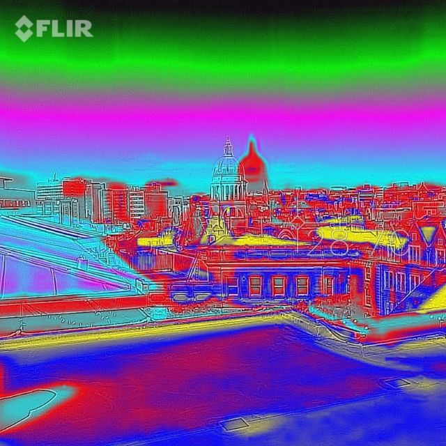Nottingham Skyline using our new FLIR thermal imaging. Camera has helped us locate several leaks which were difficult to find as well as surveying properties for thermal efficiency. #flironepro #nottinghambuilders @flir #thermalcamera @nottinghamshirelive @bbcnottingham
